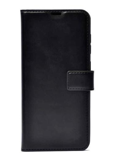 MobilCadde Samsung Galaxy M30S Kapaklı Cüzdanlı Siyah Deri Kılıf Renkli